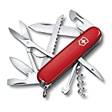 Victorinox Swiss Army Huntsman Pocket Knife (Red)