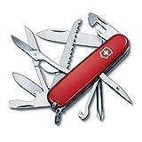 Victorinox Swiss Army Fieldmaster Pocket Knife, Red,91mm